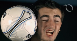 Football to the Face 1000x Slower